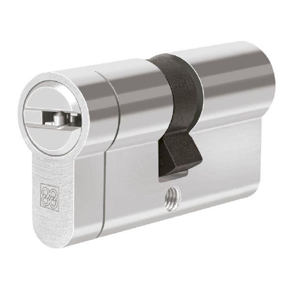 Cilindro de seguridad. Mod. MPRO Níquel. 35x35 mm.