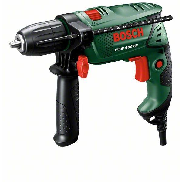 Taladro Percutor Bosch PSB 500 RE. 500 W.